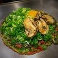 料理メニュー写真【牡蠣フェア!】牡蠣入りねぎ焼き