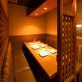 【4~6名様◎テーブル席】洋風の内装がモダンな店内は、ご宴会や外せない接待にも最適!こだわりのお食事と豊富なドリンクをご用意しておりますので、テーブルを囲み会話が弾むこと間違いなしです!宴会コースは飲み放題付3000円~。