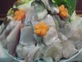 料理メニュー写真要予約 ふぐ9800円コース料理(税別) 0798-22-3112までお願いします。