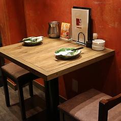 ■1F■奥に、2名様用のテーブル席がございます!