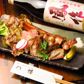 料理メニュー写真黒豚スペアリブ塩焼