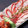 料理メニュー写真蒸し豚キムチ