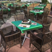 ◆屋上ビアガーデン◆そごう川口店屋上!店内の椅子テーブルが一新♪【大型】屋上ビアガーデンで団体さまもラクラクご案内!