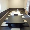 宴会場は完全個室となっております。
