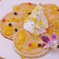 料理メニュー写真トロピカルパンケーキ