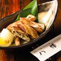料理メニュー写真カツオの腹皮 (塩焼・揚げ・湯引き)