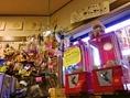 店内には、子ども心をくすぐるガチャポンが設置されている。なんと、「キムたまご」が当たることも!ぜひ一度挑戦してみてね☆