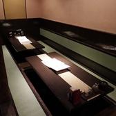 6名様の掘りごたつ式のお席です。※同タイプが3テーブルございます。テーブルを連結させて大人数のご宴会も可能です。