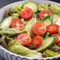 料理メニュー写真特製サラダ