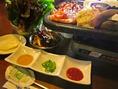 本場韓国料理をお楽しみください。