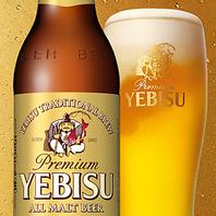 ★ サッポロ ・ エビス 樽生 ビール が飲み放題♪ ◆