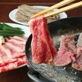 料理メニュー写真焼きしゃぶスタイル「長寿韓式美味プルコギ」国産霜降り牛(一人前)