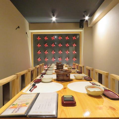 二番町の大人気店!和の落ち着いた個室で愉しむ会席料理…。
