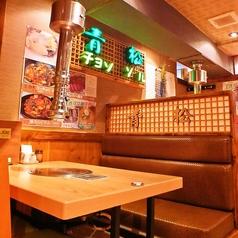 【別館】テーブル 4名席×6