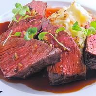 オススメ☆オーストラリア産牛ランプ肉のステーキ