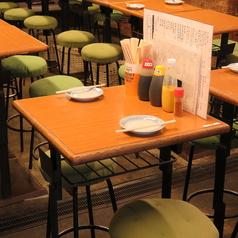 【2名様席】ゆったり座れるテーブル席