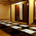 10名~最大40名様の落ち着いた和室のお席もございます会社・グループ様でのご宴会、グループ様のご会合等さまざまなシーンでご利用いただけます。
