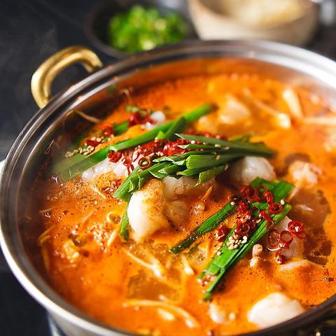 韓式和牛もつ鍋/サムギョプサル/チーズダッカルビ/などの料理が食べれるお店☆