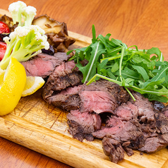 本日の銘柄牛のステーキ