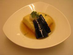 料理メニュー写真豆腐と茄子の揚げ出し