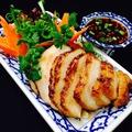 料理メニュー写真タイ風トントロの炙り焼き