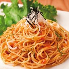 料理メニュー写真イカと明太子の和風パスタ