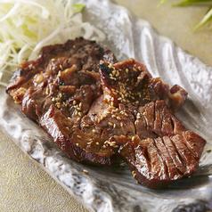 料理メニュー写真厚切り牛タンステーキ