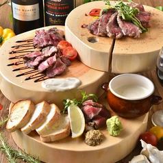 料理メニュー写真肉!肉!肉!肉好きのための5種MEATグリル盛り合わせ