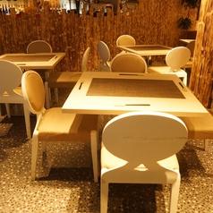 広々としたテーブル席は各種宴会などに◎大人数宴会は最大80名様迄対応可能!!40名様以上で貸切対応も可能です。お気軽にお問い合わせください♪