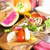 肉、魚、野菜、全ての食材に千葉への想いを盛込みました