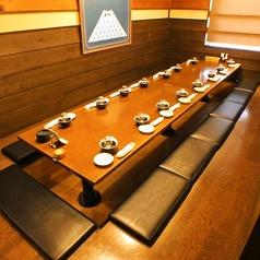 会社宴会、お食事会、接待など、シーンを選ばずご利用いただけます。