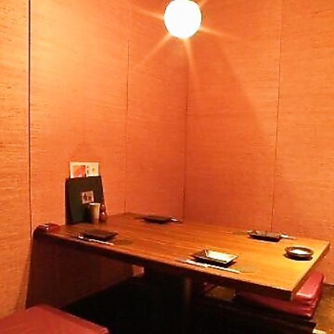 八丁堀駅2分の個室空間☆拘りの海の幸と大地の恵みを厳選焼酎とともに