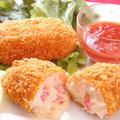 料理メニュー写真特選蟹クリームコロッケ(2個)