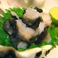 料理メニュー写真しゃこ貝の刺身