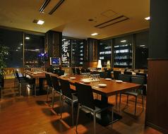 16~32名様用の半個室(椅子&テーブル)です。要予約の飲み放題付きご宴会&パーティーコースは4名様~承ります。