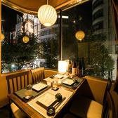 ★夜景が見えるテーブル個室★