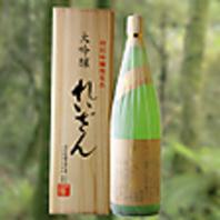 地酒にこだわり熊本の日本酒取り揃えております。