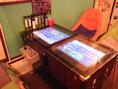 懐かしいテーブル型のゲーム台!