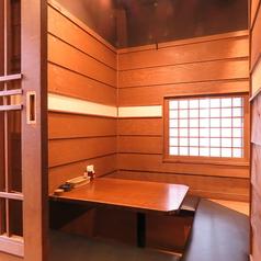 周囲を気にせずお過ごしいただける個室もご用意♪人数に合わせてご利用いただけます。
