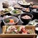 厳選した特撰素材の手作り和食を味わう本格懐石料理