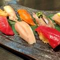 料理メニュー写真握り寿司の盛り合わせ 七貫