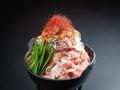 料理メニュー写真和豚のもち豚を使用した旨辛チゲ鍋
