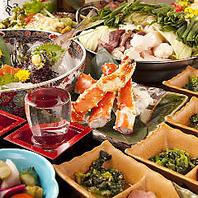 九州直送食材の宴会コースはNO,1レベル