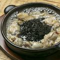 料理メニュー写真牡蠣と岩海苔のアヒージョ