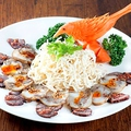 料理メニュー写真四川風三種冷菜の盛り合わせ