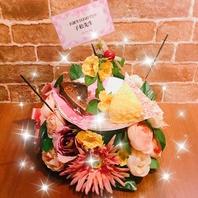 誕生日・お祝いにはデザートプレートでサプライズを♪