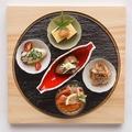 料理メニュー写真武野屋の前菜5種盛り