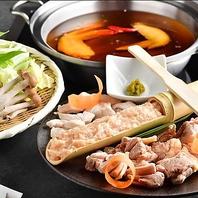 山口県産長州鶏を使用した「鶏鍋」ご用意しております。