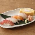 料理メニュー写真握り寿司(3貫・5貫)
