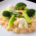 料理メニュー写真温野菜リゾット